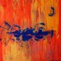 N8, Turbulenzen in Ali, 80x80 cm, 300 Euro